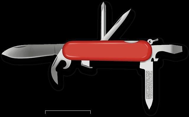 Overview of a Jackknife Lock Pick Set